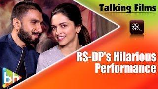 HILARIOUS: Ranveer Singh-Deepika Padukone Exclusively Perform On 'Eye To Eye'