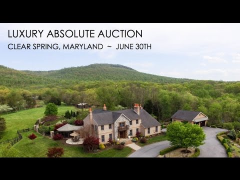 76-Acre Maryland Farm With Luxury Home For Sale [Absolute Auction]