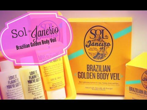 How to get a BRAZILIAN GLOW! Sol de janeiro GOLDEN BODY VEIL