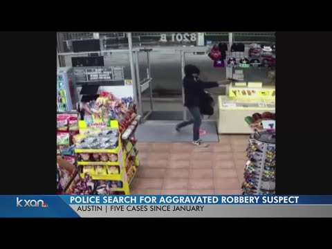Man wanted for allegedly robbing five stores since the start of the year