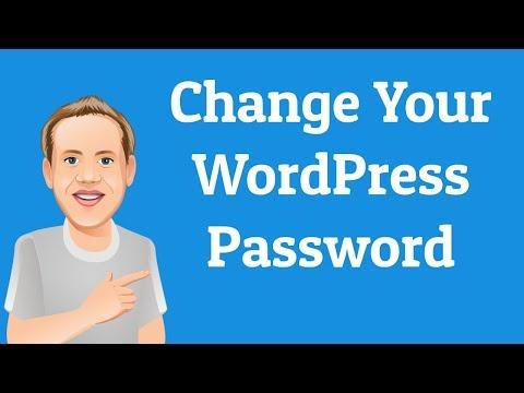 How to Change Your WordPress Password