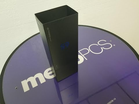 Samsung Galaxy S9 Unboxing For metroPCS What You need to know.