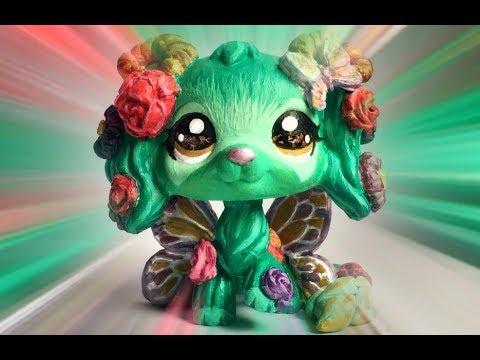 Lps Custom ~ Butterfly Fairy