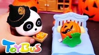 Halloween Monster Hospital | Doctor Panda's Magic | Doctor Pretend Play | Halloween Cartoon | ToyBus
