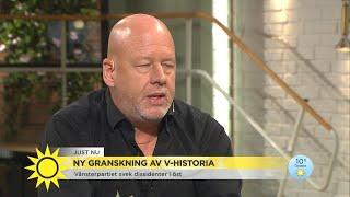 """Ny granskning av Vänsterpartiet: """"Helt obegripligt att väljarna inte känner til - Nyhetsmorgon (TV4)"""