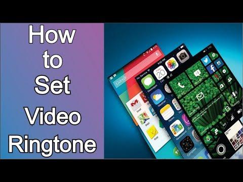 How to Set Video Ringtone || FUTURE TECH