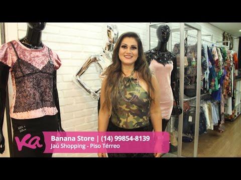 22.03.17 - Looks da Banana Store - Jaú Shopping