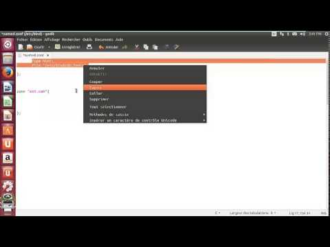 Configuration DNS sous UBUNTU 13.10