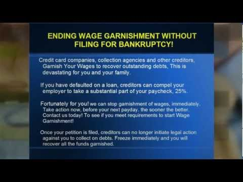 How To Stop Wage Garnishment Without Bankruptcy