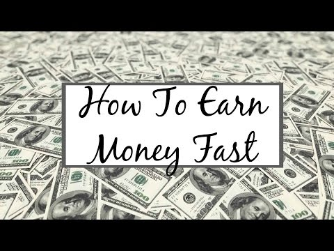 How To Earn Money Fast   HD