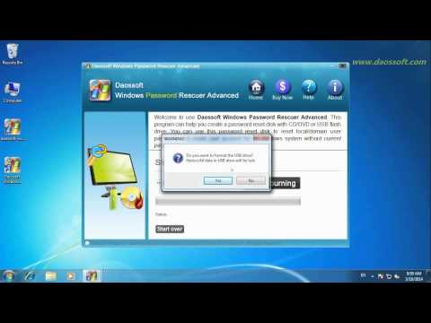 How to Unlock Domain Admin Password on Windows Server 2003,2008,2012