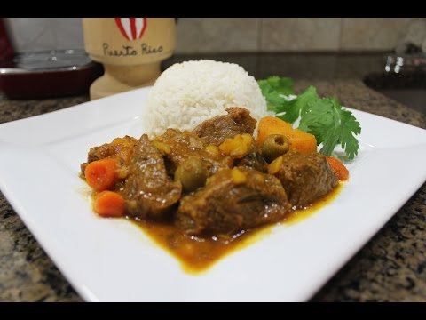 How to make Puerto Rican Beefstew (Carne Guisada)