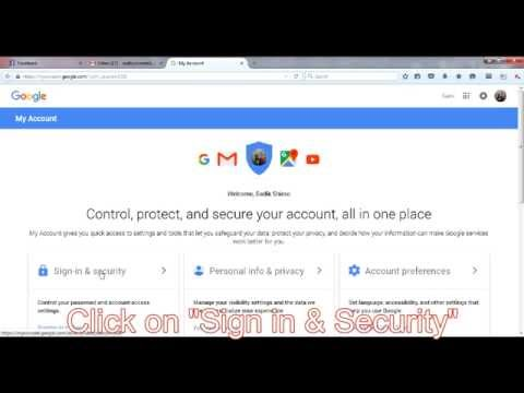 How to see google account password on pc