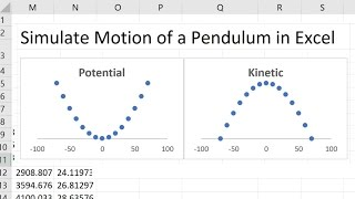 Simulate Motion Of A Pendulum In Excel