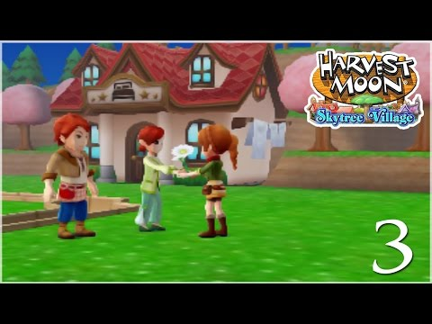 Gifts of the First Flower Harvest!! • Harvest Moon: Skytree Village - Episode #3