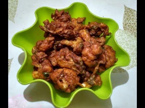 Cauliflower Pakoda | Cauliflower Bhajiya / No - 272