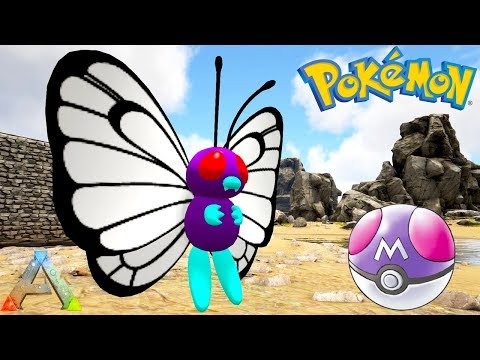 CATCHING OP BUTTERFREE WITH POKEBALLS! POKEMON ALLSTARS EP #1 (Ark Gameplay)