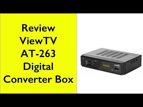 Review - ViewTV AT-263 Digital Converter Box