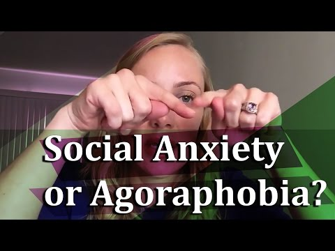 What's the difference between social anxiety and agoraphobia? #KatiFAQ