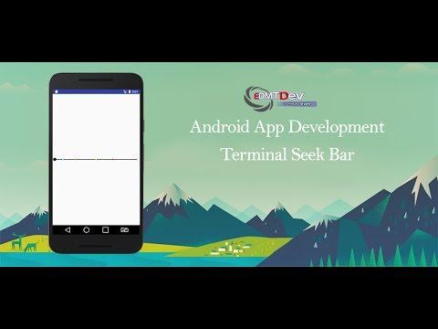 Android Studio Tutorial - Terminal Seek Bar