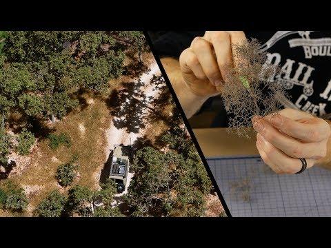 Make Realistic Gum Trees using Seafoam - Fast & Easy