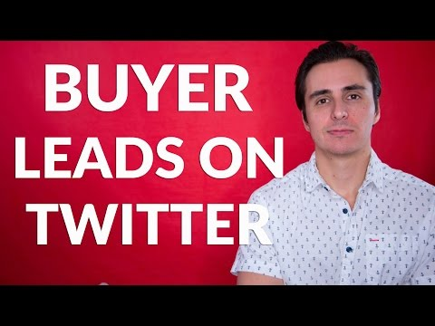 What If You Could Find Real Estate Buyer Leads On Twitter? 🤔