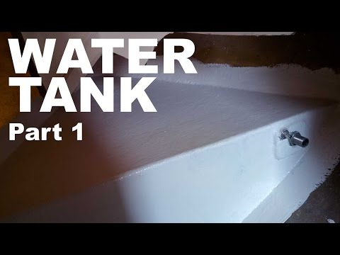 SV Yeah Buoy: Building a water tank part 1