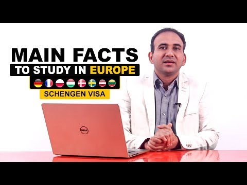 Main Facts to Study in Europe for Indian student