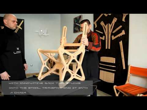 Electron chair by LOCK