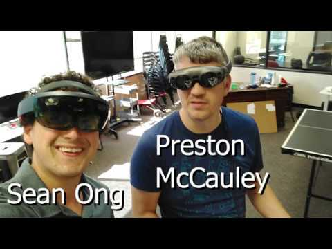 Magic Leap and HoloLens Shared Experience Demo