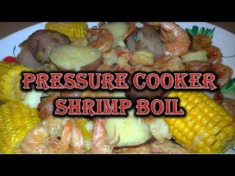 10 Minute Shrimp Boil In A Pressure Cooker