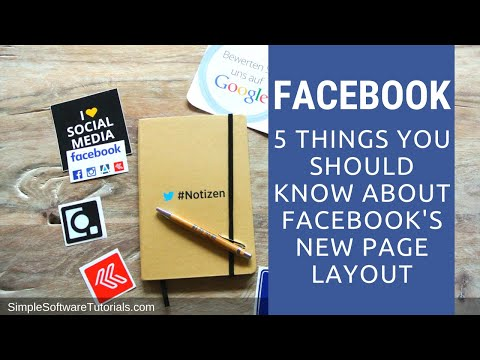 5 Things You Should Know About Facebook's New Page Layout 2014