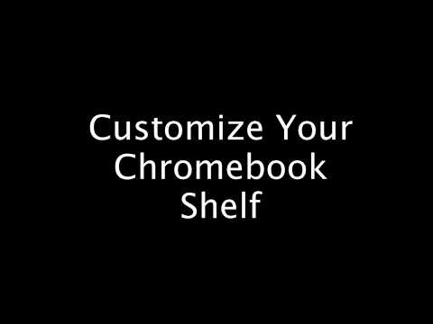 Customize Your Chromebook Shelf & Wallpaper