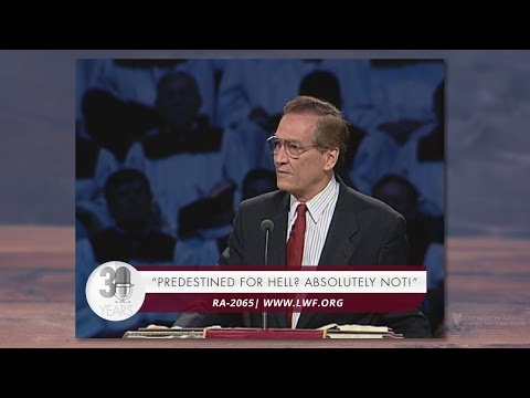 Adrian Rogers: Predestined for Hell? Absolutely Not! #2065