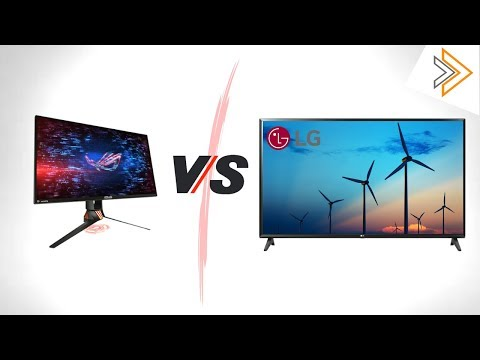 Computer monitor vs TVs - Detail Differences [in HINDI]
