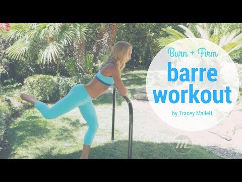 Burn + Firm at the Barre with Tracey Mallett