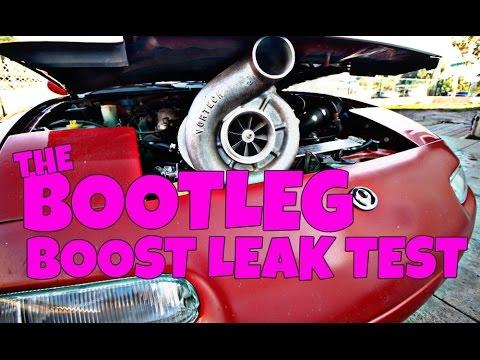 FREE HORSEPOWER! The Bootleg Boost Leak Test.