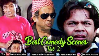 Best Comedy Scenes - Vol 2 | Johnny Lever | Paresh Rawal | Rajpal Yadav | Bollywood Movie Scenes