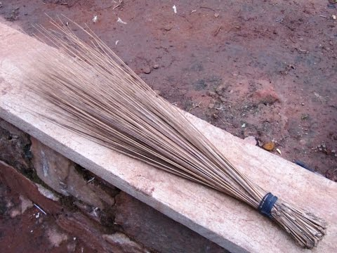How To Use An African Broom