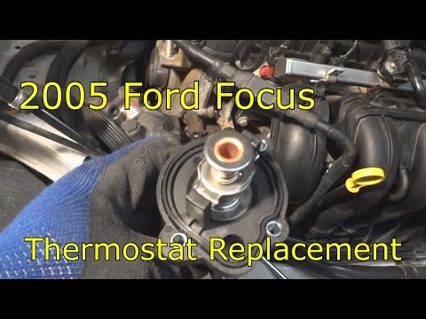 2005 Ford Focus thermostat replacement