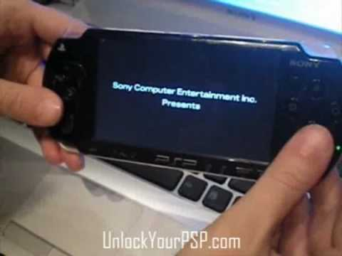 How To Unlock PSP 2000 and 3000