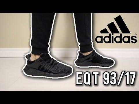Adidas EQT 93/17 Triple Black