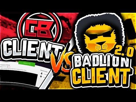 CheatBreaker vs Badlion client 2.0 [FPS Comparison]