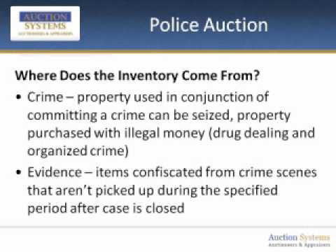 Police Auction: Answering the Most Common Buyer Questions