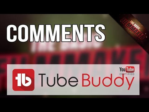 YouTube Comment Tips and TubeBuddy