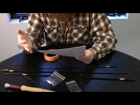 Building a fly rod - Beginners full fishing rod building guide