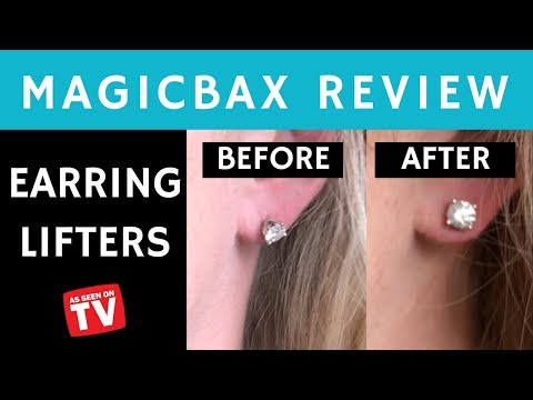 MAGICBAX EARRING LIFTERS - REVIEW