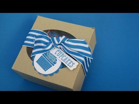 Mini Cupcake Box
