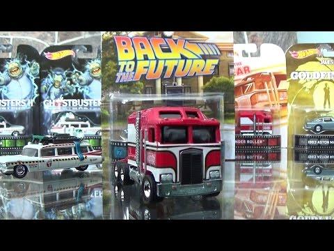 Hot Wheels Retro Entertainment 2015 F-Case UNBOXING