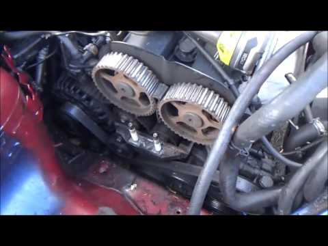 01 Ford Focus Timing belt repair Possible Ghost! Part 1